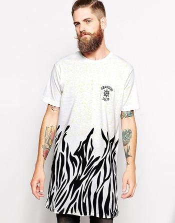 f194a82e32d19 Длинная мужская футболка