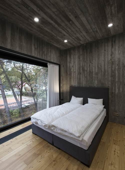 Спальная комната минимализм