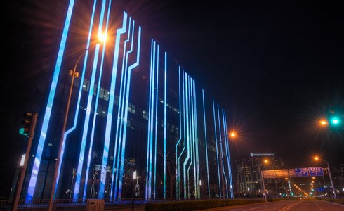 Цифровое здание в Пекине