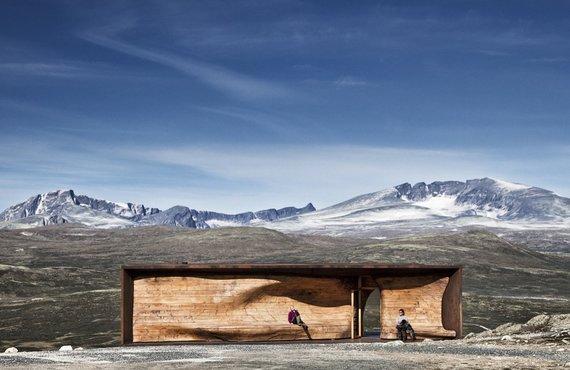 Павильон в Норвегии